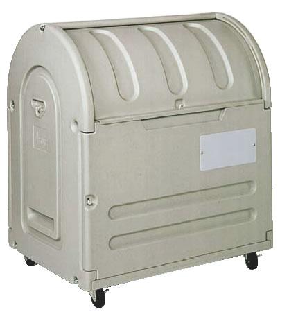 エコランドステーションボックス #500C キャスター付 【代引き不可】【ゴミ箱 ジャンボペールボックス】【ダストカート ゴミステーション】【業務用】