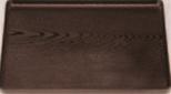 地木目長手盆 溜 即日出荷 尺2寸 お盆 会席盆 御膳盆 敷膳 -62-37 懐石盆 お気にいる 和食盆