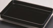 賞状盆軽量 木質(黒) 尺8寸【お盆】【賞状盆】【トレイ】【トレー】【運び盆】【1-122-8】