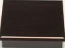 8.5寸松花堂 黒新漆塗 十字仕切付【松花堂】【弁当箱】【幕の内弁当】【宴会弁当】【懐石】【1-319-5】
