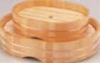 小判桶 (スノ子付) (大)【盛込器】【料亭に】【盛器】【木製】【白木】【1-737-14】