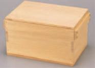 角びつ 5升用【代引き不可】【おひつ】【米櫃】【木製】【1-745-19】
