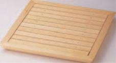 菱舟角盛込器 (目皿付)【盛込器】【料亭に】【盛器】【木製】【白木】【M-13-40】