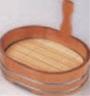 小判片手桶 (目皿付) 7.5寸【片手桶】【桶】【盛器】【盛桶】【盛込器】【M-13-41】