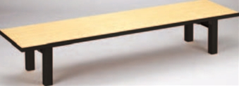 メラミン 檜(折足) (150×45×32.5)【代引き不可】【座卓】【テーブル】【机】【料亭に】【旅館に】【1-915-49】
