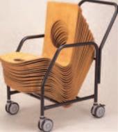 座椅子ワゴン【代引き不可】【椅子ワゴン】【ワゴン】【キャリー】【台車】【運搬台車】【旅館に】【1-926-4】