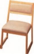 高椅子 喜楽 白木 35H【代引き不可】【椅子】【座椅子】【イス】【和室椅子】【旅館に】【料亭に】【A-2-5】