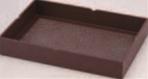 衣裳盆 茶乾漆吹雪【ホテルグッズ】【旅館用品】【客室用品】【浴衣】【作務衣】【1-812-8】