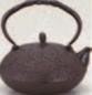 鉄瓶 平丸松15号【茶器】【茶道具】【茶道】【茶会席】【1-815-24】