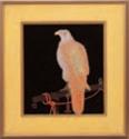 パネル 鷹(エポック)【客室用品】【インテリア】【和室用】【額縁】【絵画】【1-820-7】