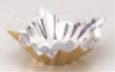 アルミすき鍋 ゴールド/内銀(大) 200枚入【宴会】【会席】【鍋】【旅館用品】【料亭】【1-849-31】