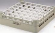 36仕切りステムウェアーラック S-36-4【洗浄ラック】【食器洗浄器用】【洗浄機用】【1-947-25】