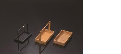 ■3コセット■竹製カスター(柄付)■3コセット■