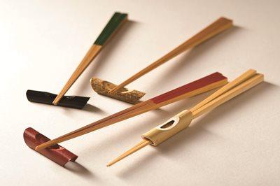 ■30コセット■朱塗舟型箸置■30コセット■