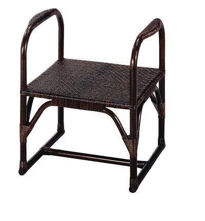 籐座椅子(アーム付)