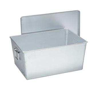 アルマイト 深型 パン箱 45人用(蓋付)257【給食】【食缶】