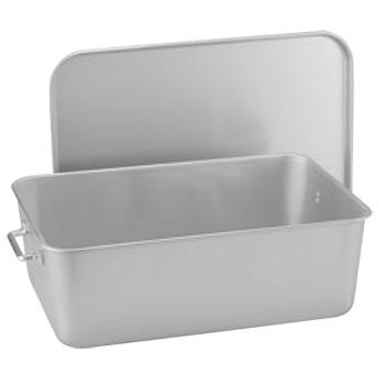 シルバーアルマイト 重なるパン箱 TA-40【給食】【食缶】