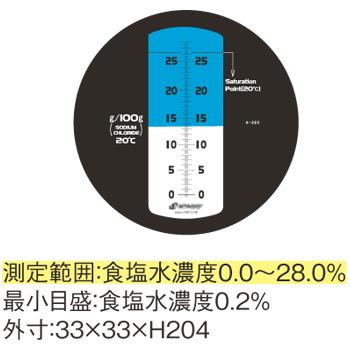 食塩水濃度計 MASTER-S28M【デジタル測定機器】【糖度計】【アタゴ】【ATAGO】【業務用】【厨房用品】