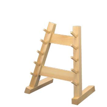 木製 庖丁掛け 5段【包丁掛け】【ナイフラック】【包丁置き台】
