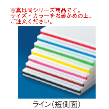 住友 スーパー耐熱まな板 SSWKL 線2本付(短辺)黄【まな板】【業務用まな板】