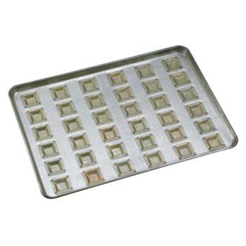 シリコン加工 カトラー型 天板 小(36ケ取)【業務用】【オーブン天板】