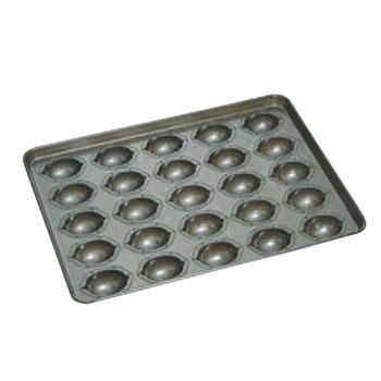 シリコン加工 レモンケーキ型 天板(25ヶ取)【業務用】【オーブン天板】