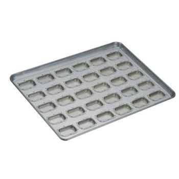 シリコン加工 アドミラル型 天板(30ヶ取)【業務用】【オーブン天板】