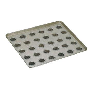シリコン加工 リージェント型 天板(30ヶ取)【業務用】【オーブン天板】