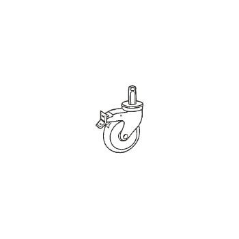 カムシェルフ用キャスター(2ケ1組)プレミアム CSCTL【キャスター】【車輪】