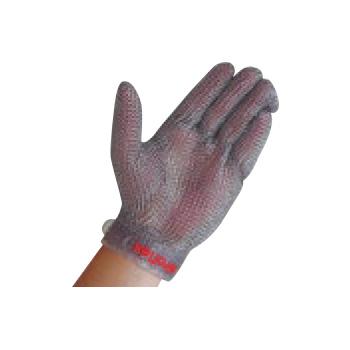 ニロフレックス メッシュ手袋 プラスチックベルト付(1枚)左手用 L【手袋】【軍手】【保護手袋】