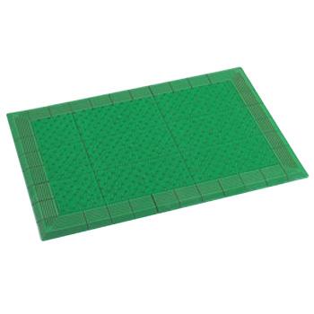 玄関マット テラエルボーマット 大(900×600)緑 MR0520401【屋外用マット】【玄関マット】【マット】