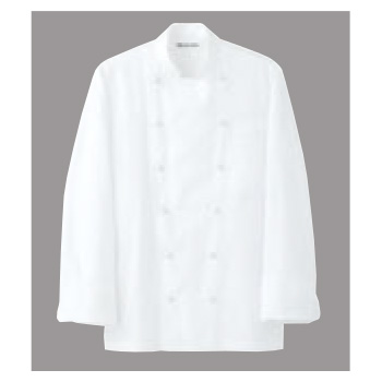 ドレスコックコート(男女兼用)AA461-3 ホワイト M【コックコート】【コック服】【厨房ユニフォーム】