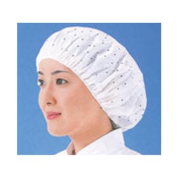 つくつく帽子(100枚入)EL-102W M ホワイト【衛生帽】【衛生対策】【使い捨てキャップ】