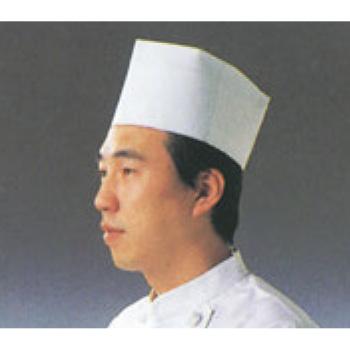 使い捨て 中華帽子(50枚入)31110【丸帽】【コック帽】【シェフ帽】