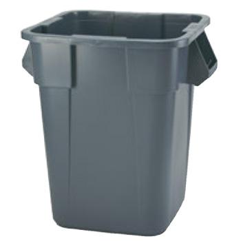 スクウェアー ブルート・コンテナー 3536 グレイ【代引き不可】【ゴミ箱】【ダストボックス】【ごみ箱】