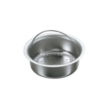 EBM-19-2160-22-001 抗菌ステンレス 排水口ゴミ受け 皿型 お気に入り ゴミ箱 送料無料 衛生用品 H45mm CK-117