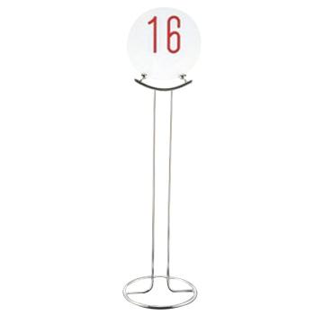 UK 18-8 テーブルナンバースタンド ドーナツベース2030【店舗美品】【スタンド】【予約スタンド】