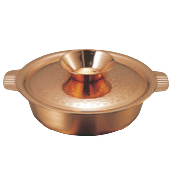 ガゼル 銅 ちり鍋 29cm【鍋】