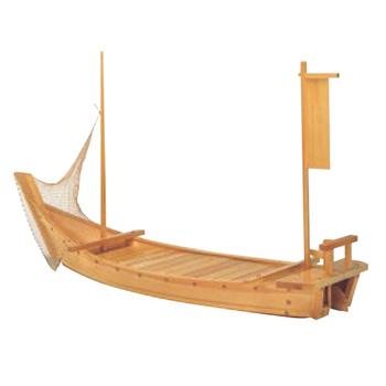 ひのき 大漁舟 2尺 アミ付【盛皿】