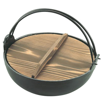 アルミ 電磁 いろり鍋 30cm【鍋】