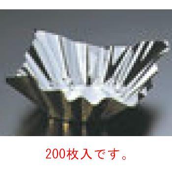 アルミ箔鍋 金/銀(200枚入)6号(80045)【鍋】【卓上用品】【箔鍋】