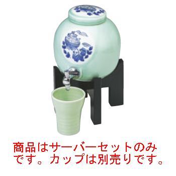 焼酎サーバー 黒塗り台セット 長崎物語【酒器】