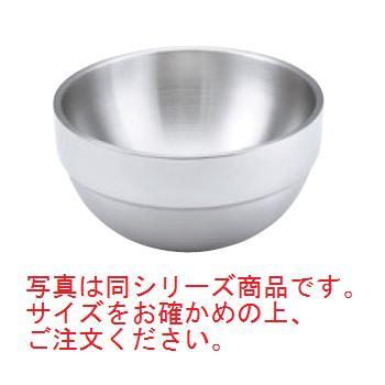 ステンレス 2重サラダボール 丸 46666 1.6L【食器】【ボウル】