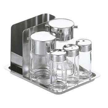 #800 テーブルセット ガラス製【調味料入れ】
