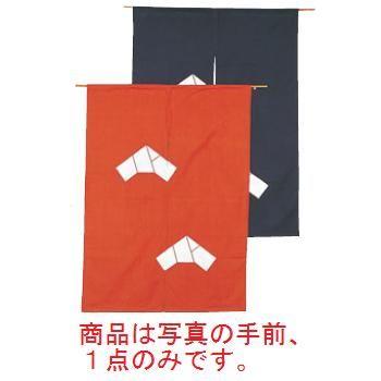 文 のれん N107-05 茶 850×1200【飲食店のれん】【暖簾】