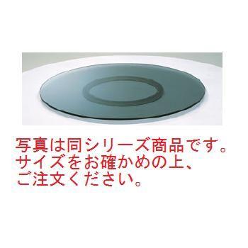 ターンテーブル(グレースモーク強化ガラス)TTTP-900【代引き不可】【ターンテーブル】