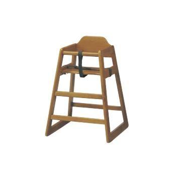ベビーチェア ミルク SBC-520BR ブラウン【子供イス】【お子様用椅子】【木製椅子】【飲食店備品】【スタッキング椅子】