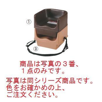 キャンブロ ベビーシッター(ストラップ付)100BCSJ(158)H/レッド【子供イス】【幼児用椅子】【飲食店備品】