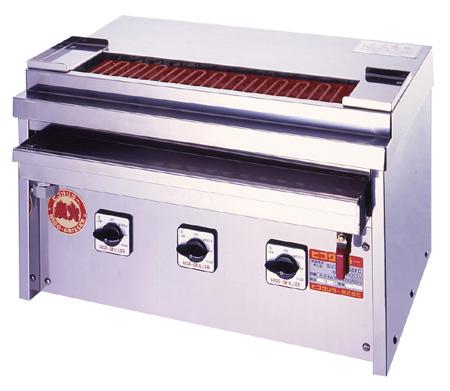 ヒゴグリラー 焼鳥専用タイプ 卓上型 3P-206KC【代引き不可】【業務用】【焼台】【串焼き】【やきとり】【電気グリラー】【下火】【焼き鳥】【コンパクト】