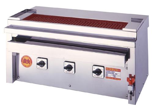 ヒゴグリラー 焼鳥大串タイプ 卓上型 3P-207XC【代引き不可】【業務用】【焼台】【串焼き】【やきとり】【電気グリラー】【下火】【バーベキュー】【コンパクト】